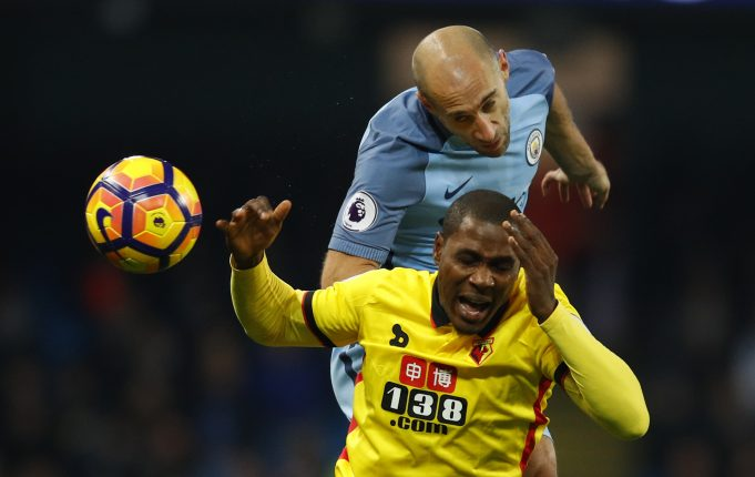 Top 10 most carded Manchester City players