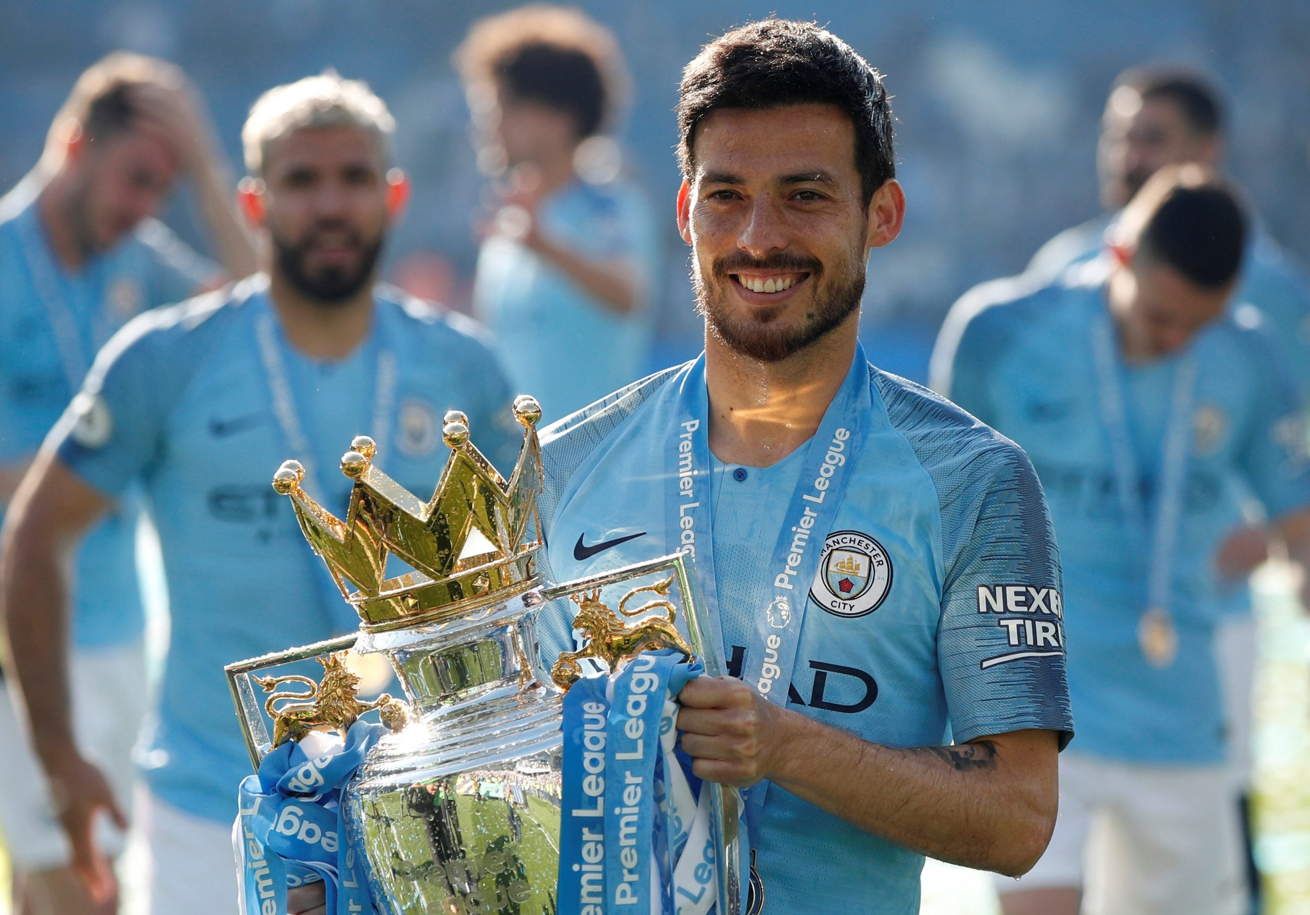 Man City most assists: David Silva