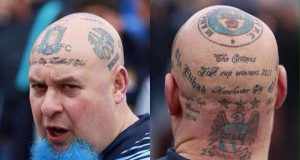 Manchester City tattoo