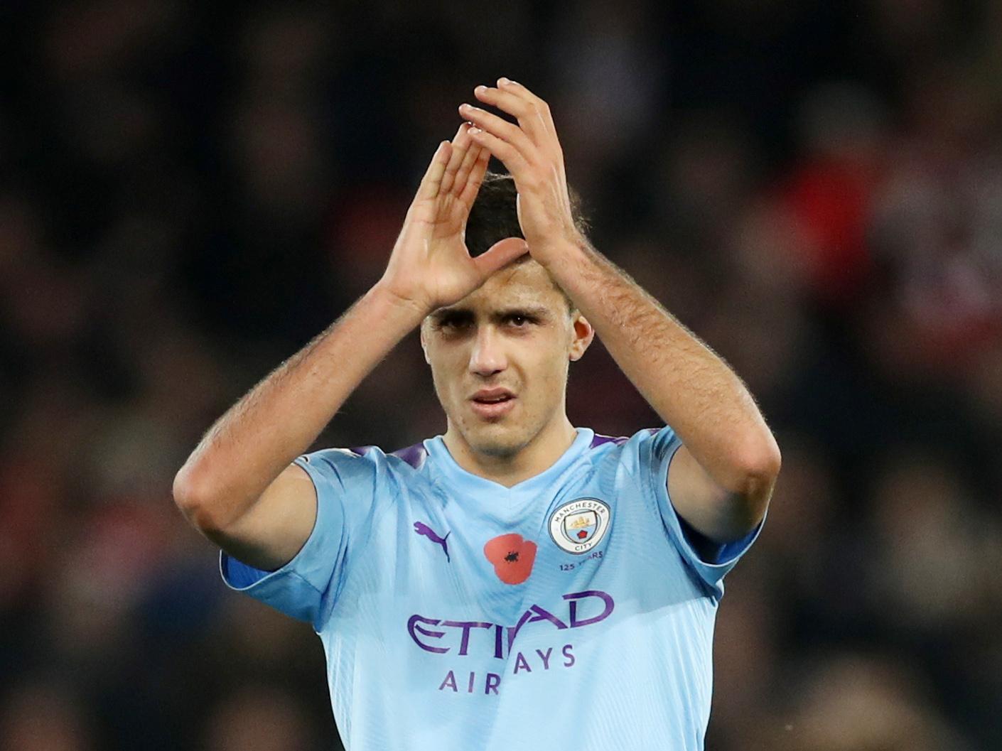 Top Five tallest Manchester City players - Rodri