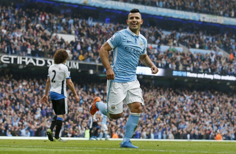 Manchester City shortest players 2020 - Aguero