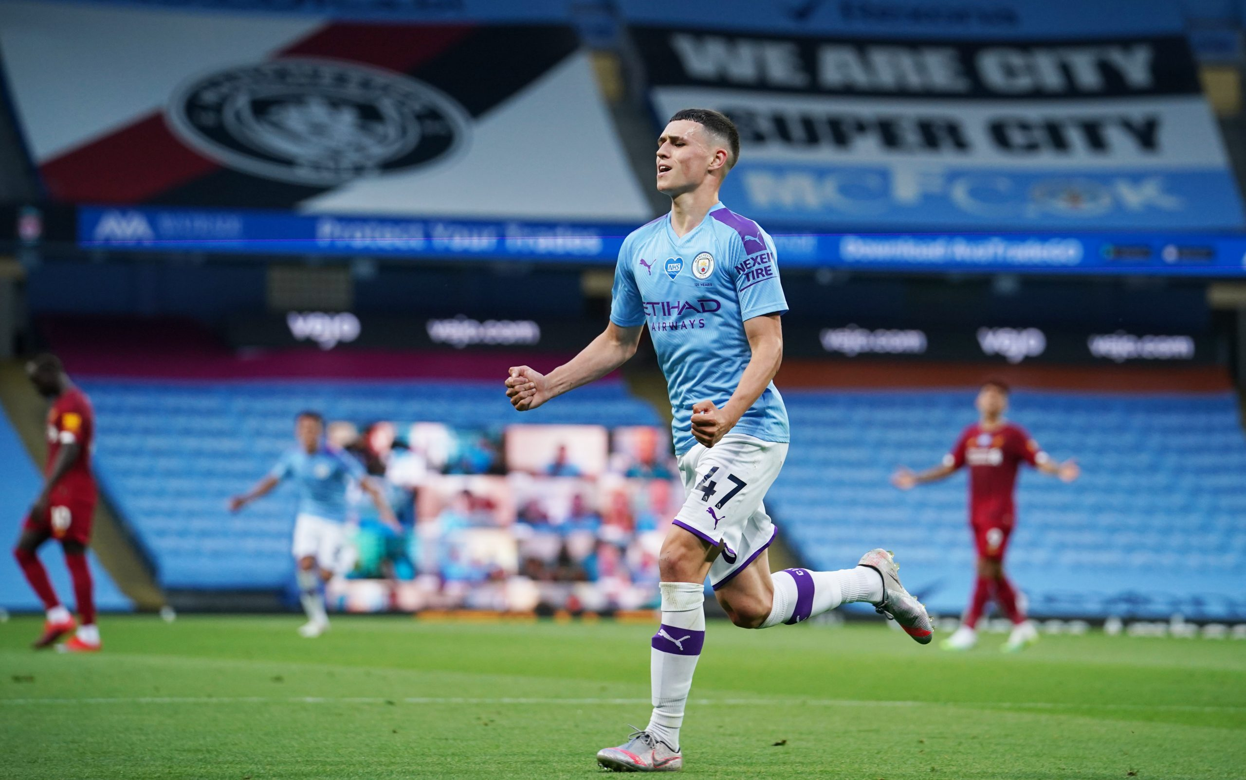 Manchester City shortest players 2020 - Foden