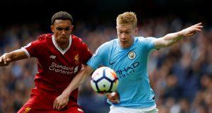 Liverpool defender heaps praise on Kevin de Bruyne