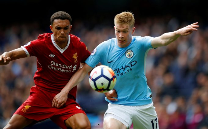 Liverpool defender heaps praise on Kevin de Bruyne