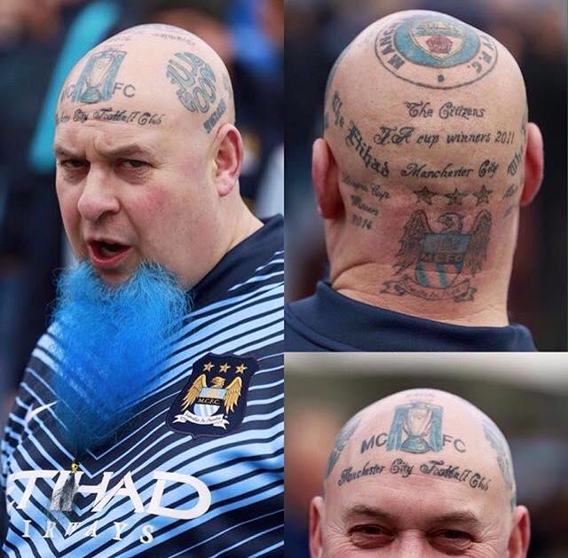 Man City tattoo