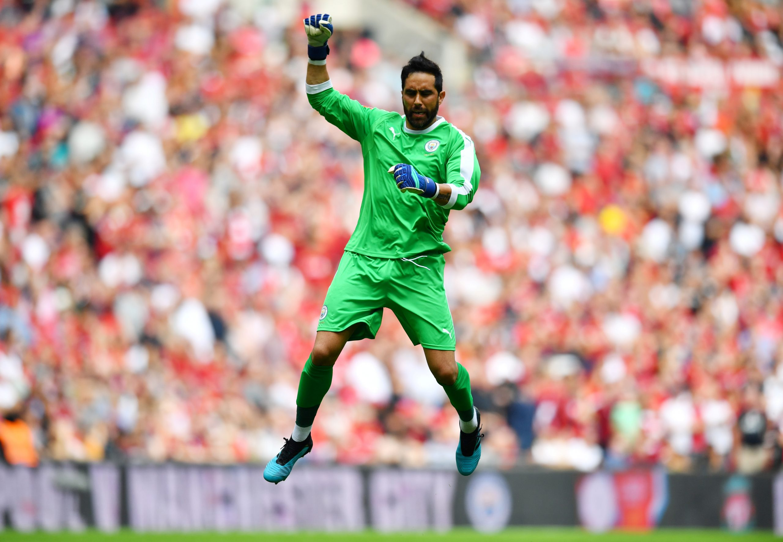 Manchester City Goalkeepers 2020 Bravo