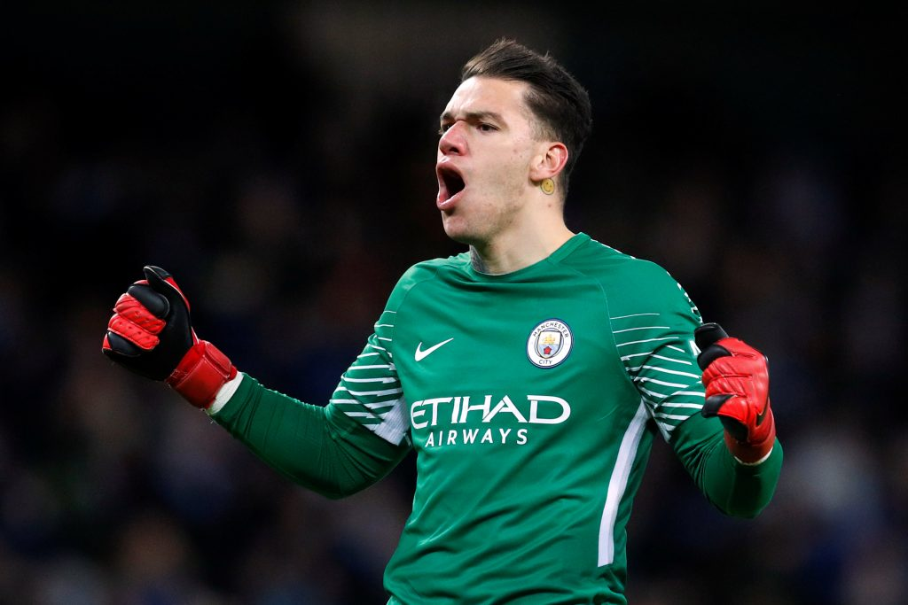 Manchester City Goalkeepers 2020 Ederson