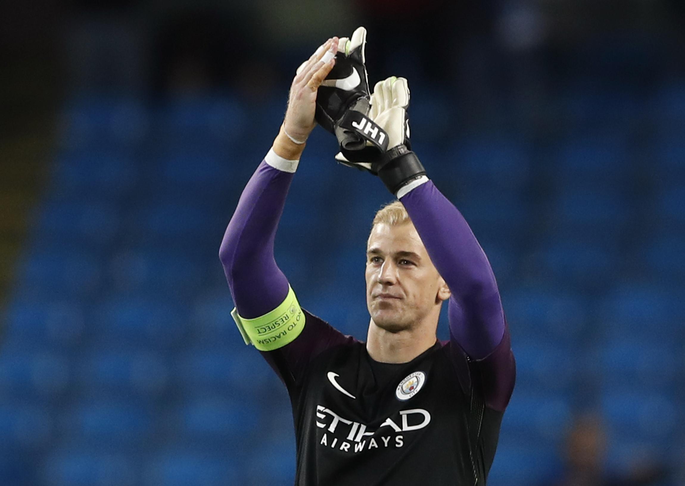 Manchester City Goalkeepers 2020 Hart