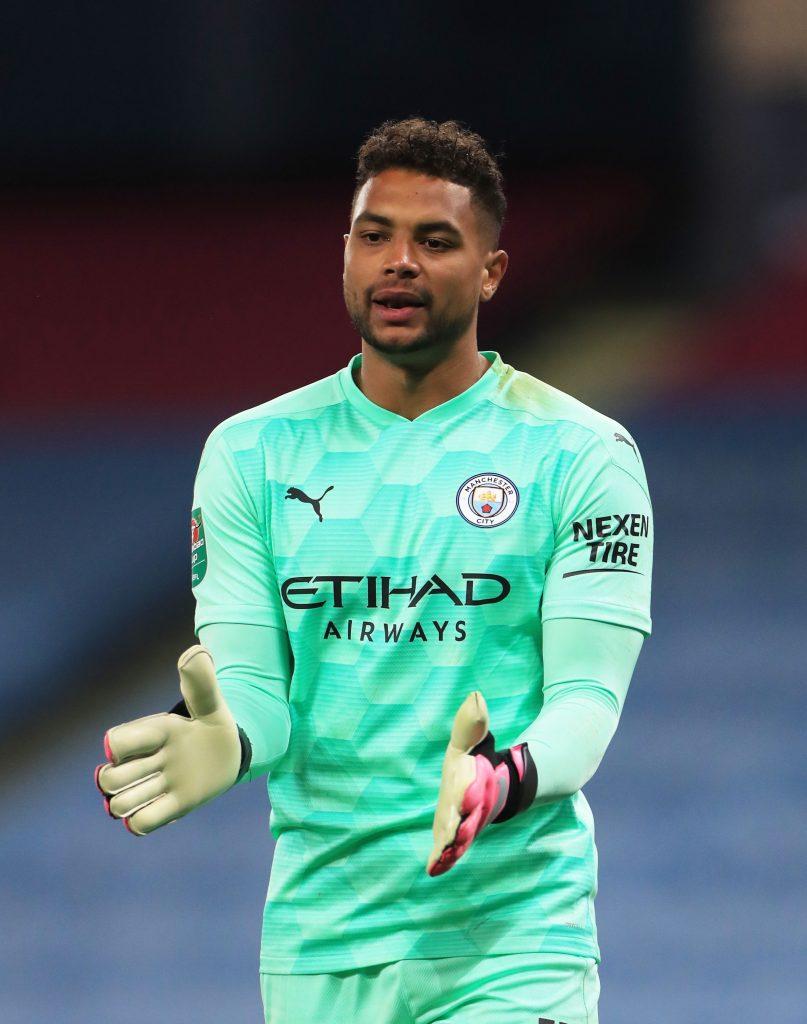 Manchester City Goalkeepers 2020 Steffen