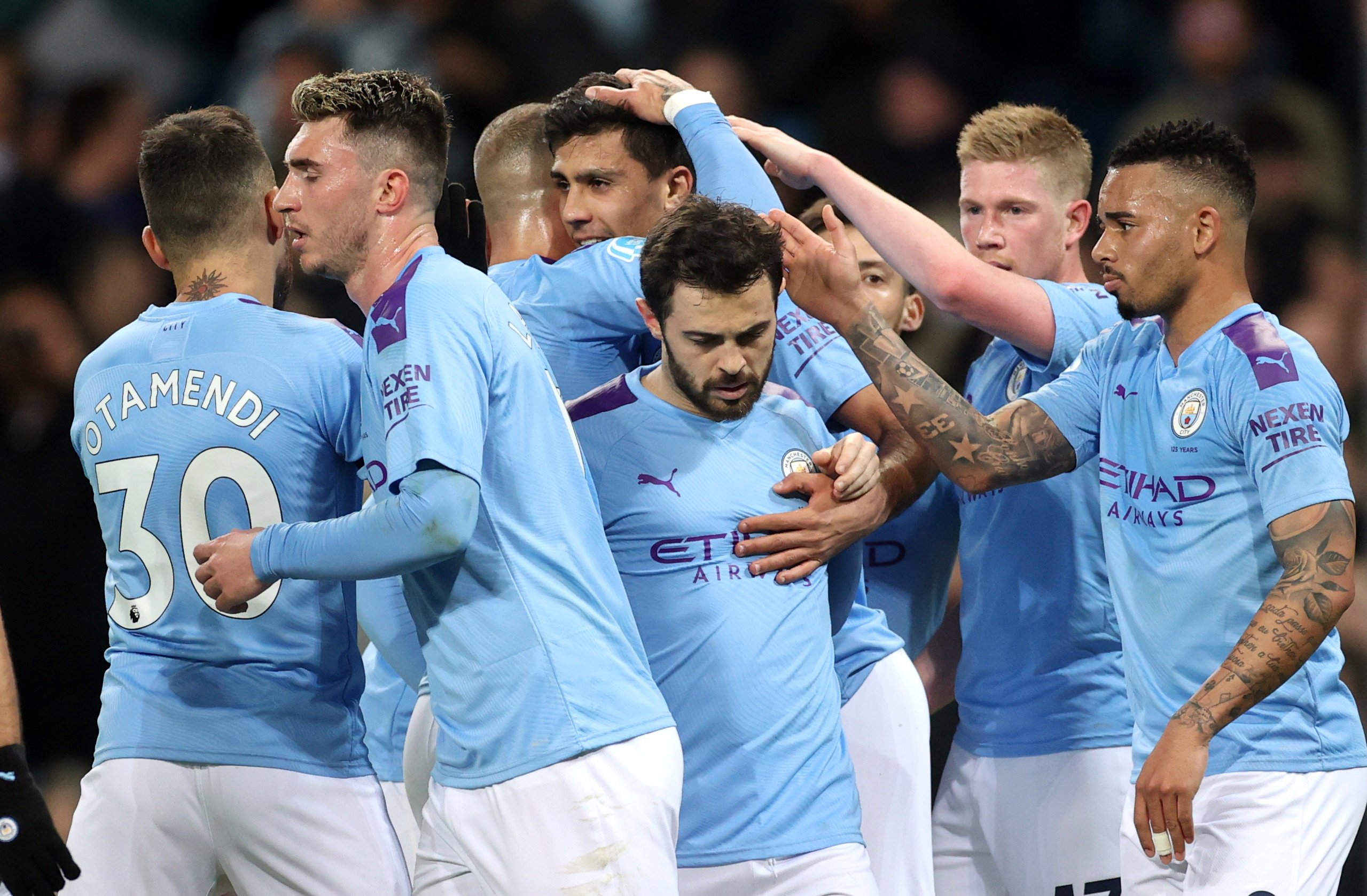 Manchester City Players Wages 2020
