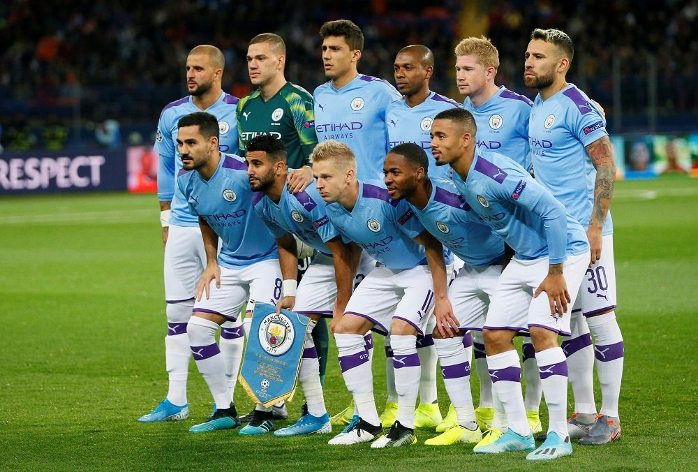 Manchester City Players and their Countries