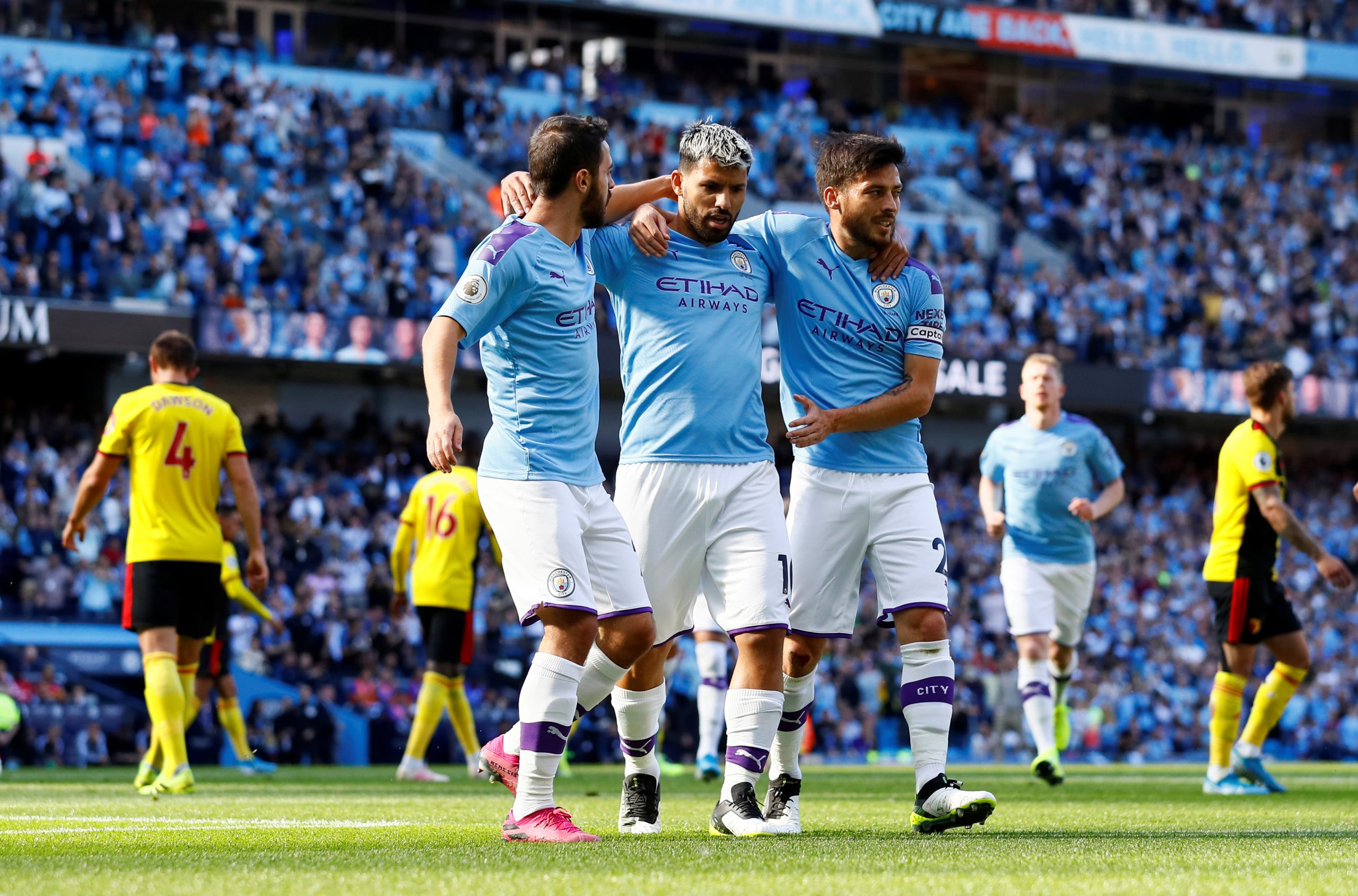 Manchester City Record League and Premier League win