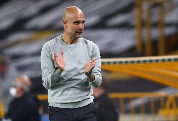 Pep Guardiola lauds his side's improving defence