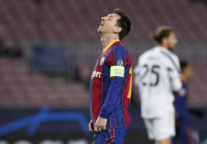 Man City handed Lionel Messi transfer boost