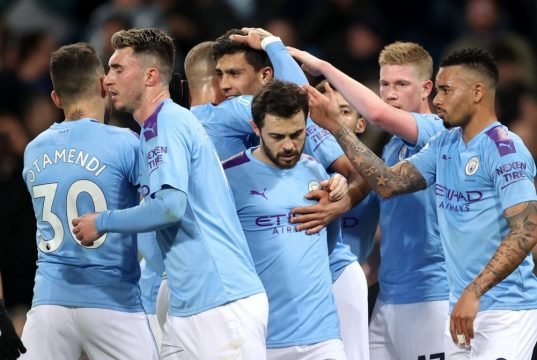 Manchester City predicted line up vs Chelsea