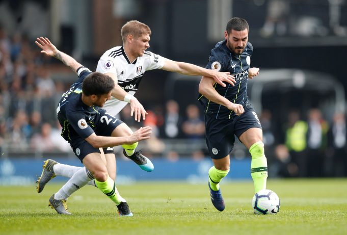 Manchester City vs Fulham Head to Head