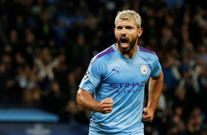 Pep Guardiola lays plan for Sergio Aguero