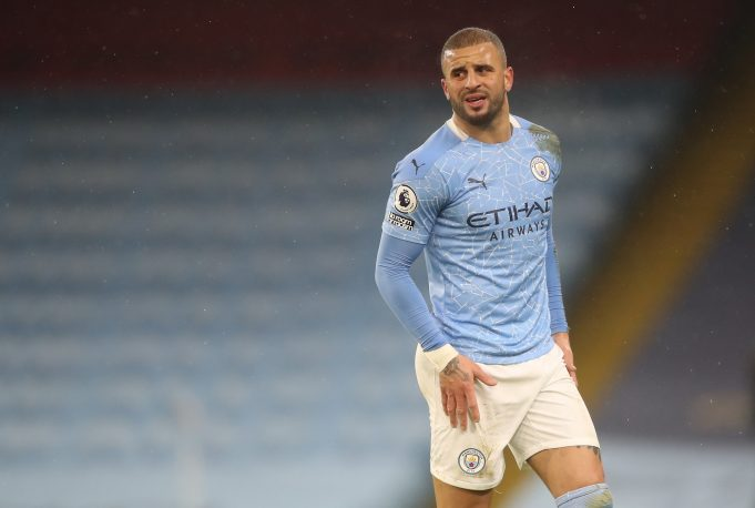 Kyle Walker sends message to Guardiola over team selection