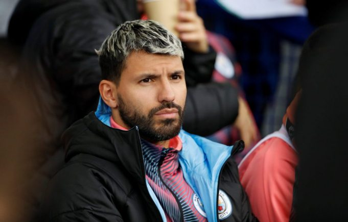 Pep Guardiola gives an update on Sergio Aguero