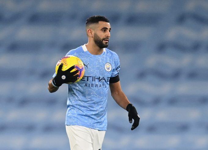Riyad Mahrez not happy at Man City