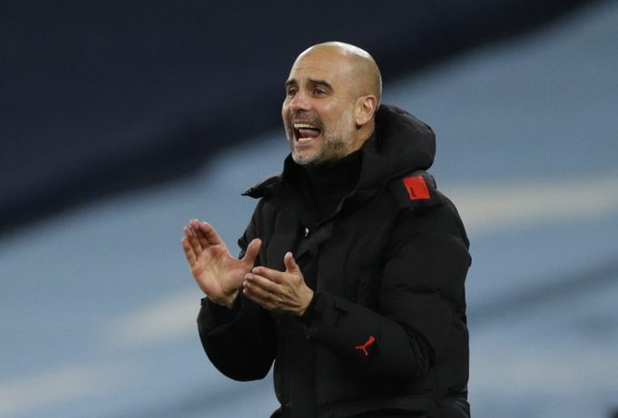 Pep Guardiola expresses concern over state of Etihad pitch