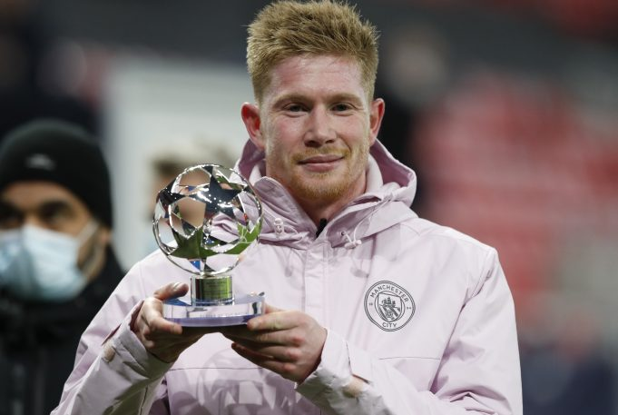 Kevin De Bruyne signs two-year contract extension until 2025