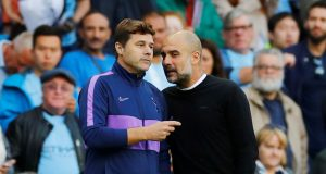 Pep Guardiola hailed as the 'best coach' by Pochettino