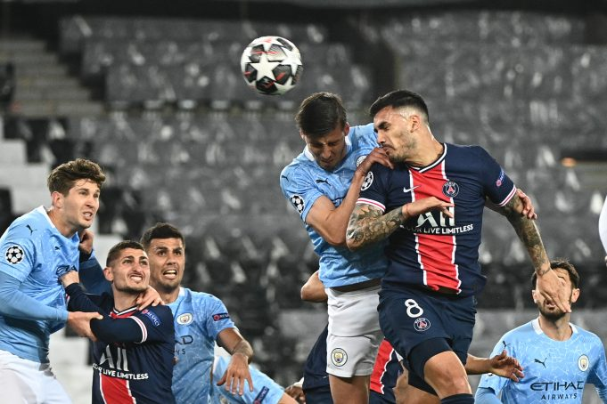 Manchester City vs PSG Head To Head