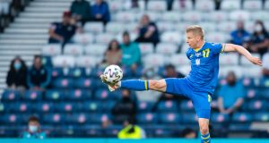 Oleksandr Zinchenko not scared of England ahead of Euro 2020 clash