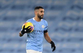 Riyad Mahrez Shuts Down Rumours Of Leaving Manchester City