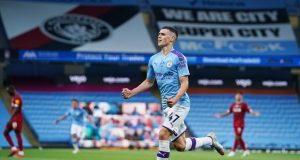 Phil Foden gives an update on his injury and return date