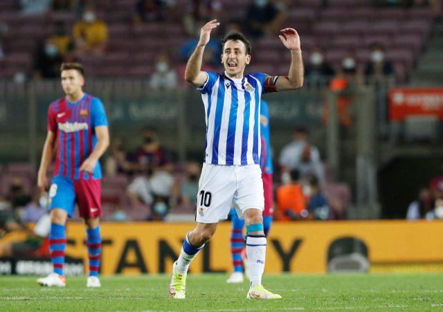 Man City Eye on Real Sociedad winger Oyarzabal